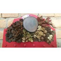 Pedurador De Chaves / Flores Secas/ Quadro