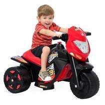 Moto Elétrica Infantil Ban Moto 6v Novo Modelo Bandeirante