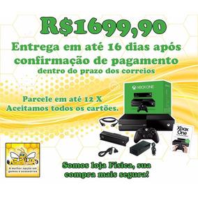 Xbox One Ref + Kinect + 1 Jogo + Caixa + Loja Física