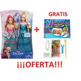 Muñeca Princesa Anna Y Elsa Frozen Importadas Barbie