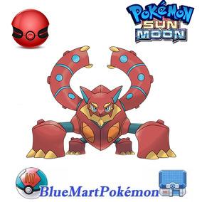 Volcanion Evento 2016 - Pokémon Sun & Moon