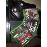 Xbox One 500 Gb Con Juegos(vendo O Cambio)