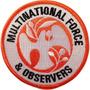 Parche Militar Onu Multinational Force
