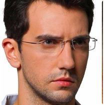 Armação Oculos Grau Titanio Original Feminino Masculino