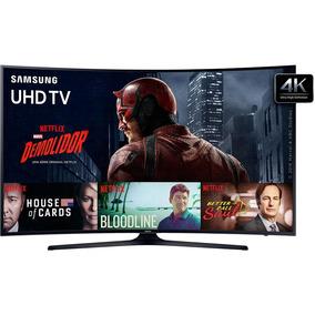 Smart Tv Led Curva 40 Samsung Un40ku6300gxzd Uhd 4k 3 Hdmi