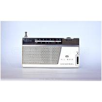 Radio Antigo General 8ga801 Am Sw Onda Média Curta
