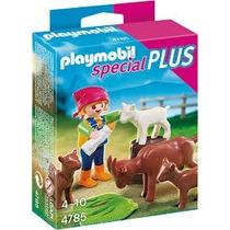 Retromex Playmobil 4785 Especial Niña Y Cabras Granja
