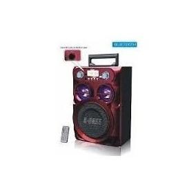 Caixa De Som Bluetooth 20w Micro System Torre Para Microfone