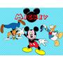 Kit Imprimible Candy Bar Mickey Y Sus Amigos Cumples Cod 2