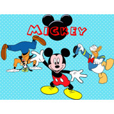 Kit Imprimible Candy Bar Mickey Y Sus Amigos Cumples Cod 2