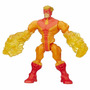 Muñeco Super Hero Mashers Marvel Pyro Hasbro - Mundo Manias