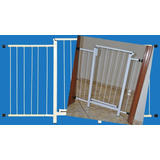 Portão Grade Proteção Porta Cão Pet Cães 144 Cm A 149 Cm