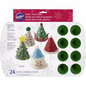Molde Silicona Wilton Pino Papa Noel Navidad Cakepops