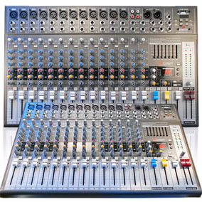 Sj Mesa Arcano Armpeq1622fx Amplificada 350 Watts Usb In