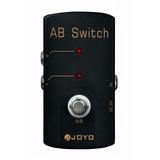 Pedal Selector Joyo A/b Switch Selección De Amplis O Efectos