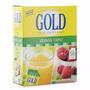 Adoçante Em Pó Gold 100% Stevia 50 Saches - O Mais Saudável