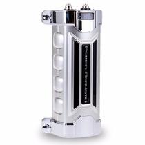 Capacitor Power Acoustik Pcx-3f Voltimetro 3 Faradios P Auto