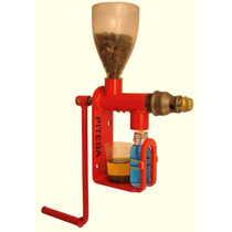Prensa Extractor De Aceite Semillas Granos Nueces Piteba