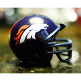 Mini Capacete Nfl Denver Broncos - Peyton Manning