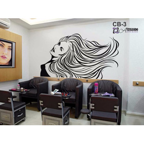 Adesivo Parede Especial P/salão Beleza Cabeleireiro Manicure