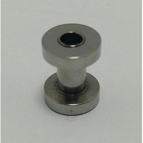 Alargador Aço Cirúrgico (par) 1mm 2mm 3mm 4mm 5mm 6mm 8mm