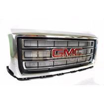 Parrilla Cromada Gmc Sierra Pick Up 2014 2015 2016 Orig Eca