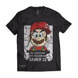 Camisa Camiseta Swag Super Mario Personalizado Gamer 33
