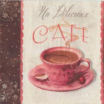 Guardanapo P/ Decoupage Toke E Crie Aroma De Café C/ 20