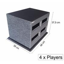 Pelego Box Expositor Para 4 Player 1 Dim Personalizado Som