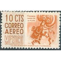 Sc C209 Año 1953 Oaxaca Danza De La Pluma Cuilapam 10c Con W