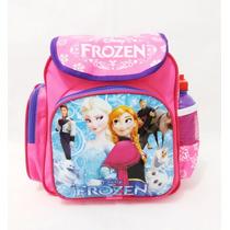 Mochila Escolar Infantil Feminina Frozen Reforçada Barata