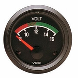 1 Indicador Marcador Reloj Voltimetro 12v Universal Vdo