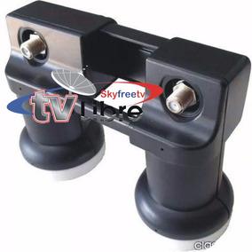 Lnb-ku Fta Duo 1+1 Corona Tv Satelital Cde&e Shops Skyfreetv