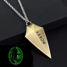 Colar Cordão Arrow Arqueiro Verde Pronta Entrega