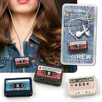 Cassette Organizador De Auriculares Ipod Iphone Mp3 Mp4