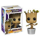 Funko Pop! Marvel: Baile Groot Bobble Action Figure