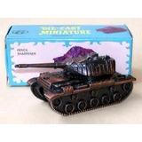 Miniatura De Metal Apontador De Lápis Carro De Combat 120
