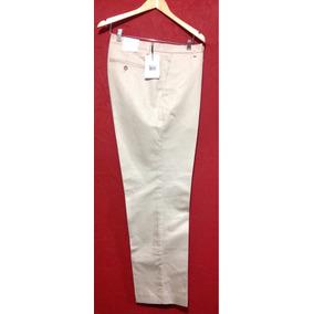 Pantalón Beige Formal Ck Calvin Klein 38x32 Casual Hombre