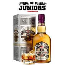 Whisky Chivas Regal 12 Años 750ml Con Estuche