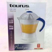 Exprimidor Cítricos Taurus Cr-100 25w 500ml. 2 Años Garantía