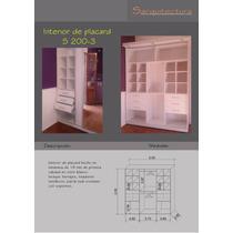 Interior Placar Melam. 18mm Blanco 2,00x2,60 200-3