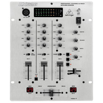 Mixer Dj 3 Canais Pro Mixer Dx626 Frete Grátis 12x S/ Juros