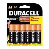 Pilas Duracell (6 Paquetes De 6 Pilas Cada Uno)