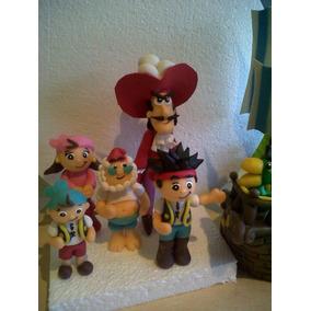 Adorno Jake Y Los Piratas.( Barco+5 Personajes)