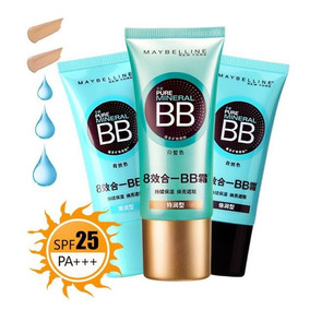 Creme Maybelline Bb Cream Pure Mineral Fps 20 - No Brasil