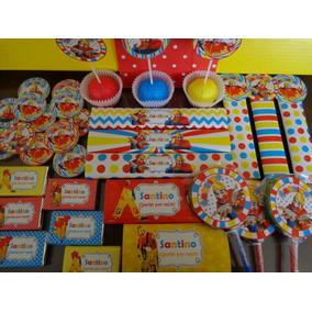 Candy Bar Piñón Fijo Para 10 Golosinas Personalizadas