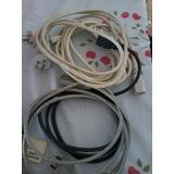 Lote De Cables De Energia Para Pc.tres De Febrero