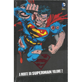 A Morte Do Superman Volume 02 - Panini - Bonellihq Cx186