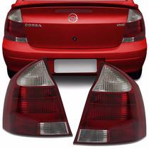 Lanterna Traseira Corsa Sedan 2003 2004 05 2006 2007 Bicolor