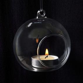 Vidros Para Pendurar-velas Suspensas- 6 Unidades